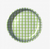 Pleasant Home - Magnetic Pin Bowl Gingham Green