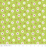 Riley Blake Fabric - Sweet Orchard Sedef Imer of Down Grapevine Lane - Green #C5482