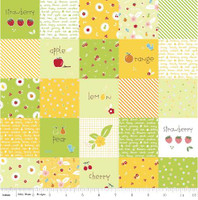 Riley Blake Fabric - Sweet Orchard Sedef Imer of Down Grapevine Lane - Green #DC5480