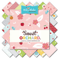 Riley Blake Fabric - Sweet Orchard - Sedef Imer of Down Grapevine Lane - 5 inch Stacker