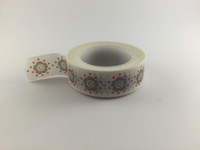Washi Tape - Floral Print on White #943