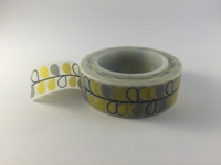 Washi Tape - Grey and Yellow Vine #726