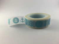Washi Tape - Blue Nautical #948