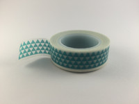 Washi Tape - Small Aqua Triangles #951