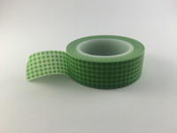 Washi Tape - Green Gingham #956