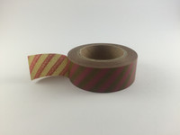 Washi Tape - Gold and Pink Stripe #962