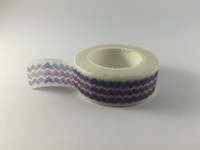 Washi Tape - Purple Chevron Shades #968