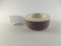 Washi Tape - Pastel Chevron #969