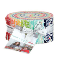 Moda Fabric Precuts Jelly Roll - Basics by Bonnie & Camille