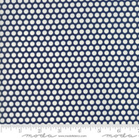 Moda Fabric - Basics - Bonnie & Camille - Navy #55023 37