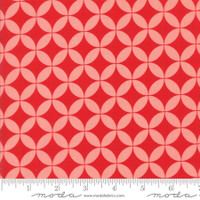 Moda Fabric - Basics - Bonnie & Camille - Red Pink #55111 40