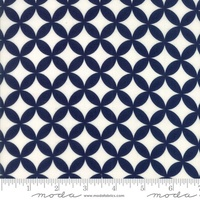 Moda Fabric - Basics - Bonnie & Camille - Navy #55111 47