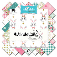 Riley Blake Fabric - Wonderland 2 - Melissa Mortensen - Fat Quarter Bundle