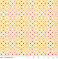Riley Blake Fabric - Sew Cherry 2 - Lori Holt - Yellow #C5806