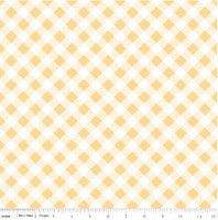 Riley Blake Fabric - Sew Cherry 2 - Lori Holt - Yellow #C5808