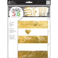Me and My Big Ideas - The Happy Planner - Gold Foil Dividers - Classic
