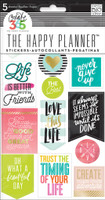 Me and My Big Ideas - The Happy Planner - Planner Stickers - Life Quotes