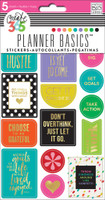 Me and My Big Ideas - The Happy Planner - Planner Basics Stickers - Bright