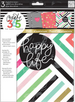 Create 365 - Me and My Big Ideas - Decorative Covers - Happy Life - Classic