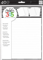 The Happy Planner - Me and My Big Ideas - Classic Refill Note Paper - Full Sheet (Graph/Lined)