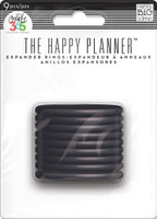 Me and My Big Ideas - The Happy Planner - Black - Big (Large) Discs