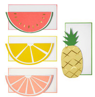 Meri Meri - Notecards - Fruit 12 Set