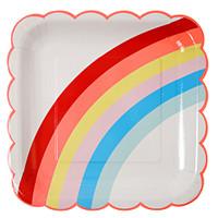 Meri Meri - Rainbow Large Plate