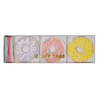 Meri Meri - Doughnut Gift Tags - Set of 12