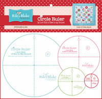 "Lori Holt - Circle Ruler Set Sizes 2"", 4"", 6"" & 9"" Bee in my Bonnet"