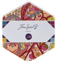 Free Spirit Fabric Precuts - Hexagons - Slow and Steady by Tula Pink