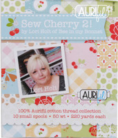 Sew Cherry 2 Small Aurifil Thread Box Lori Holt