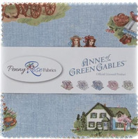 Riley Blake Fabric - Anne of Green Gables - Penny Rose Fabrics - 10 inch Stacker