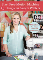 DVD Start Free Motion Quilting with Angela Walters