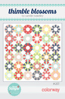 Thimble Blossom Quilt Pattern - Colorway