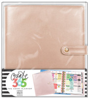 Me and My Big Ideas - The Happy Planner - Deluxe Cover - Rose Gold - Classic