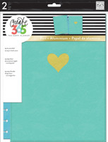 Create 365 - Me and My Big Ideas - The Happy Planner™ Snap-In Cover - Turquoise - BIG