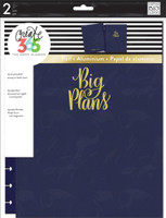 Me and My Big Ideas - The Happy Planner - Snap-In Cover - Big Plans / Navy - BIG