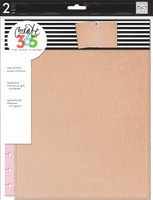 Create 365 - Me and My Big Ideas - The Happy Planner Snap-In Cover - Rose Gold - BIG