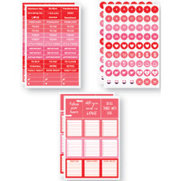 """Plan It Now Stickers - 4"""" x 6"""" - February - Planner Stickers"""