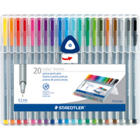 Staedtler Triplus Fineliner Pens - Set of 20