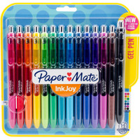 Paper Mate InkJoy Gel Pens 0.7mm - Set of 14