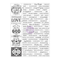 Prima Love, Faith, Scrap Planner Stickers
