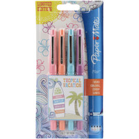 Paper Mate Flair Medium Felt Tip - Set of 4 - Tropical Vacation
