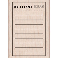 "Brilliant Ideas - Hero Arts Mounted Rubber Stamp 2.5"" x 3.5"""