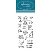 Technique Tuesday Clear Stamps - Planner Car