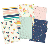 Carpe Diem - Posh Double-Sided Dividers A5 - Set of 6 - Foil Accents