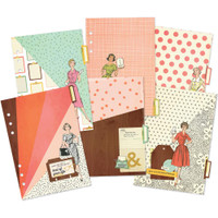 Carpe Diem - Reset Girl Double-Sided Dividers A5 - Set of 6 - Foil Accents
