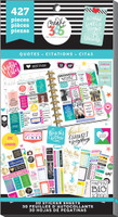 Me and My Big Ideas - The Happy Planner - Value Pack Stickers - Quotes (#427)
