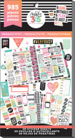 Me and My Big Ideas - The Happy Planner - Value Pack Stickers - Productivity