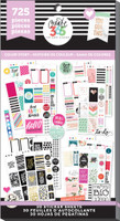 Me and My Big Ideas - The Happy Planner - Value Pack Stickers - Color Story - Classic